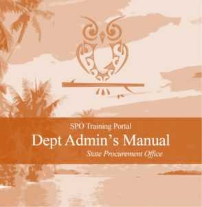 Department Administrator's Manual